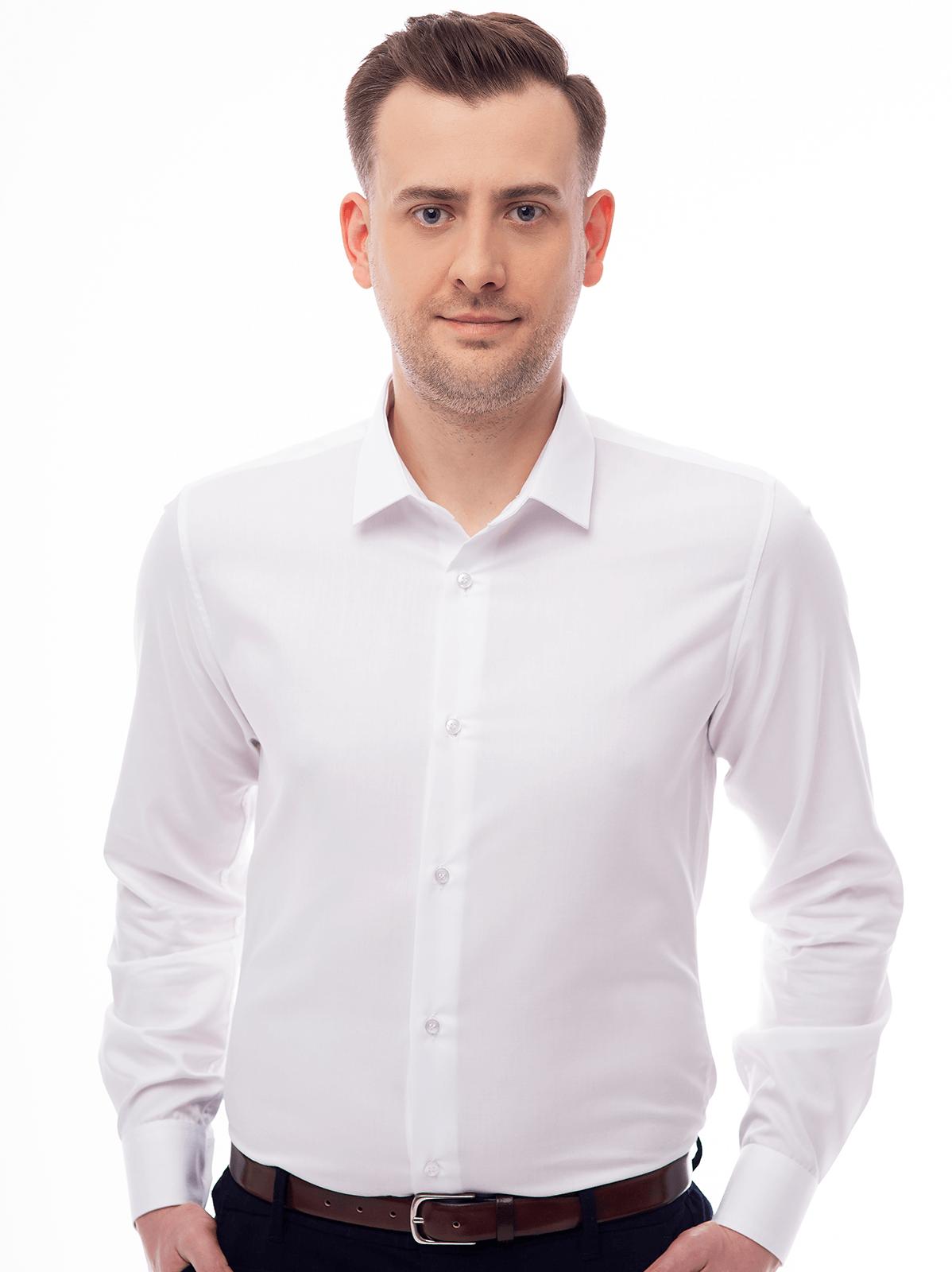 Koszula biała SLIM 3