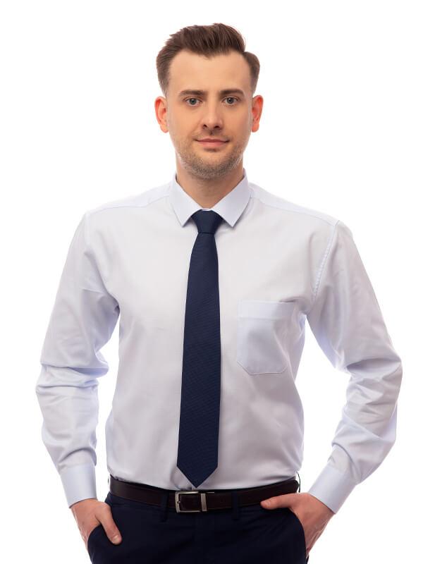 Niebieskie koszule